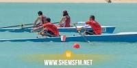البطولة الافريقية للتجديف/ اليوم الثاني: تونس تتصدر جدول الترتيب بـ 11 ميدالية منها 5 ذهبية