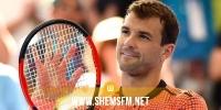 لاعب التنس البلغاري ديميتروف يعلن إصابته بفيروس كورونا
