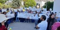 في وقفة احتجاجية للدكاترة المعطلين عن العمل: