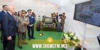 رئيس الجمهورية يؤدي زيارة إلى مقر القاعدة العسكرية بالعوينة