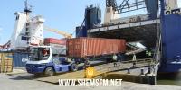 وصول باخرة إيطالية محملة بمعدات ومستلزمات طبية لميناء رادس