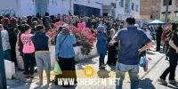 البريد التونسي:  توافد المواطنين لاستلام المساعدات المالية تسبب في حالة من التدافع والاكتظاظ بمكتب القيروان