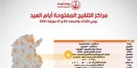 أيام مفتوحة لتلقيح المواطنين الذين تفوق أعمارهم 18 سنة: وزارة الصحة تنشر قائمة المراكز