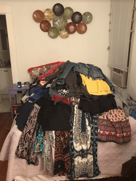 how to clean closet minimalism