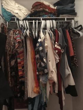 declutter your closet challenge