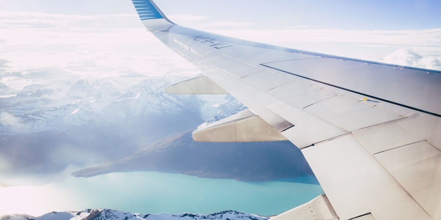 view outside plane window tips for finding cheap flights
