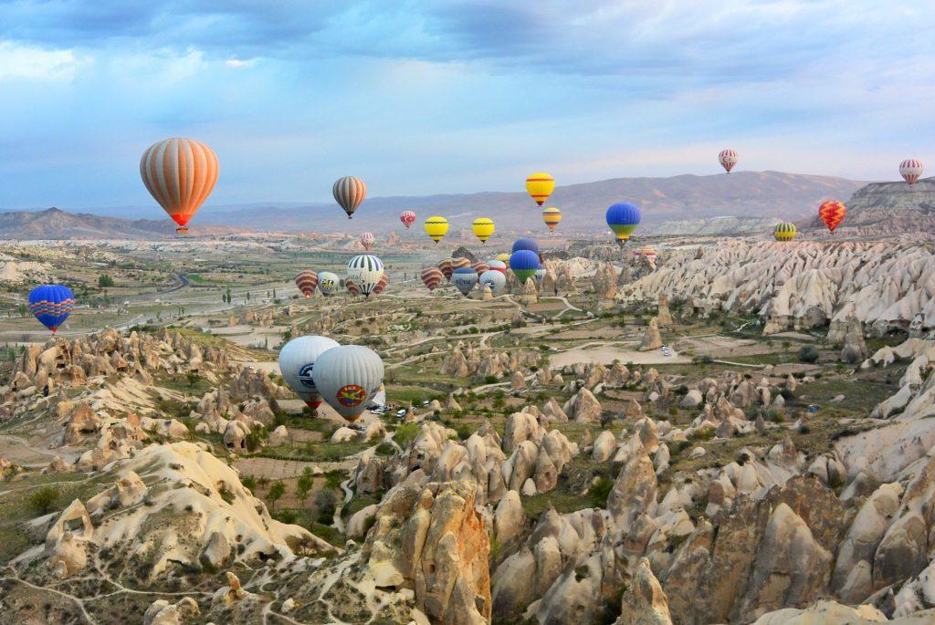 bucketlist item cappadocia hot air balloon ride