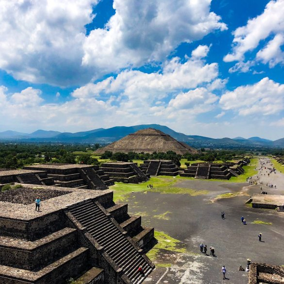 teotihuacan pyramids mexico city