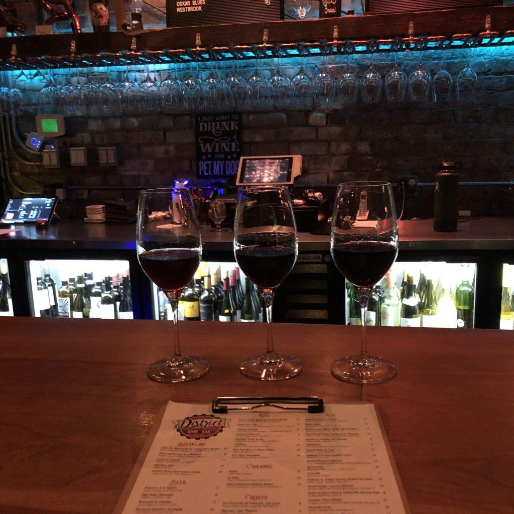 district wine bar asheville north carolina