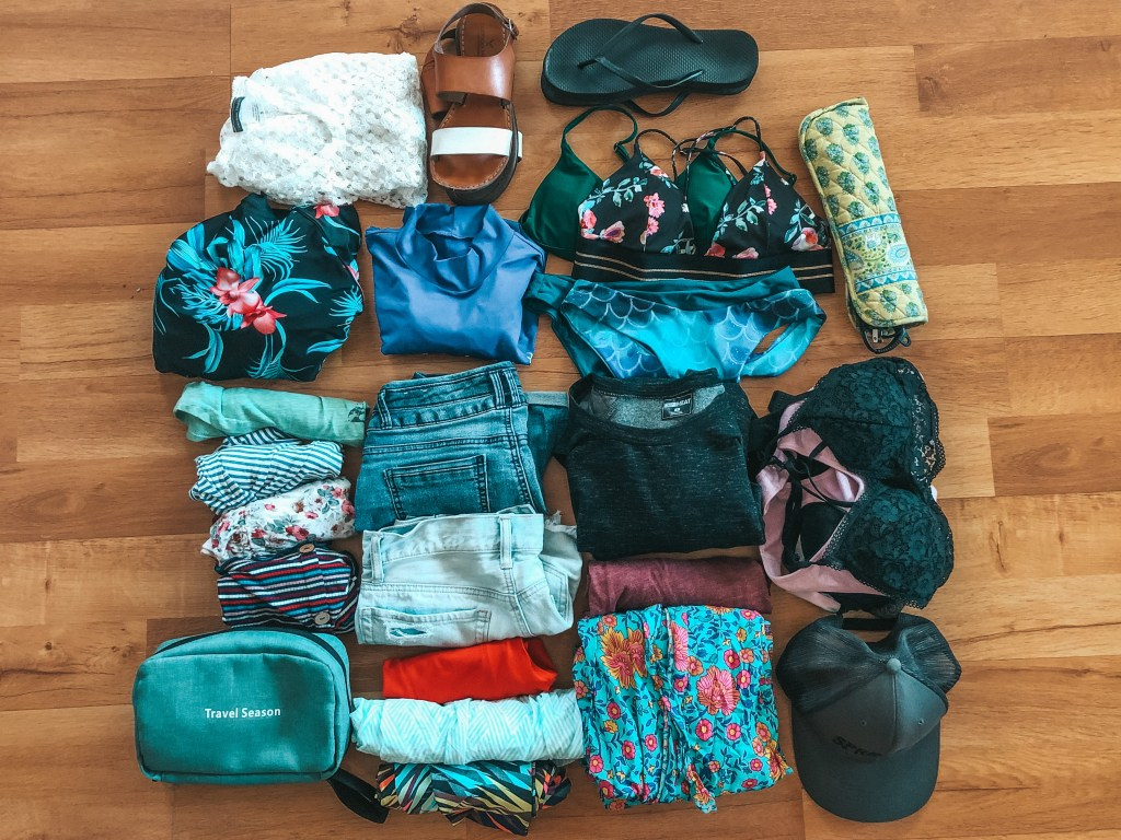 clothes for carry on packing list cabarete