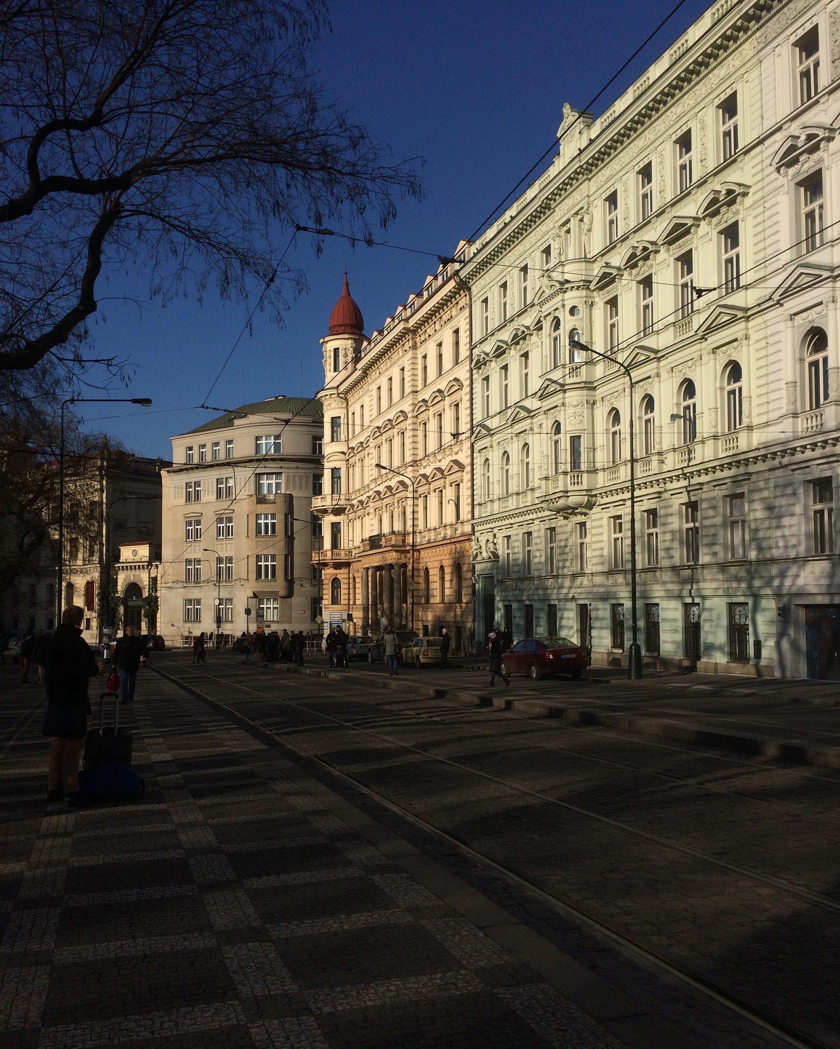 prague czech republic street