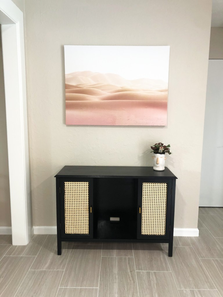 thrifted credenza