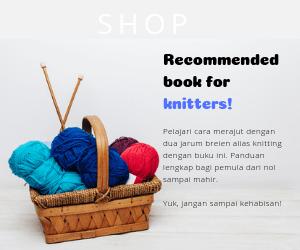 buku untuk belajar knitting