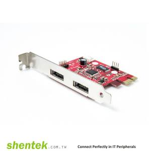 2 port Power eSATAp / USB2.0(Power Over eSATA, eSATA/USB) PCI Express Card Card supports Dual Power 5V and 12V, Power over eSATA, Power eSATA, eSATA/USB Combo, eSATA USB Hybrid Port (EUHP)