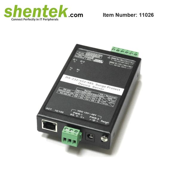shentek-11026-serial-device-server-over-IP-ethernet-LAN