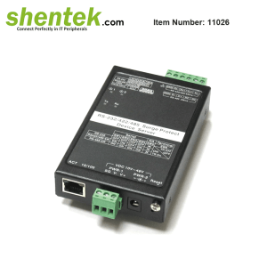 industrial RS232 RS422 RS485 serial device server