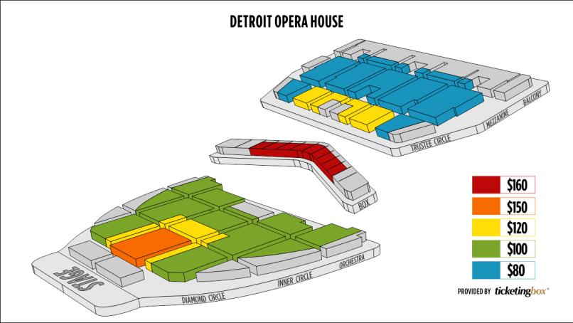 seating chart detroit opera house | www.napma.net