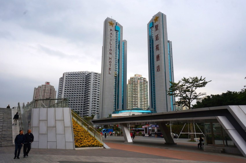 鳳凰樓があるパビリオンホテル