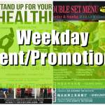 weekday event promotion