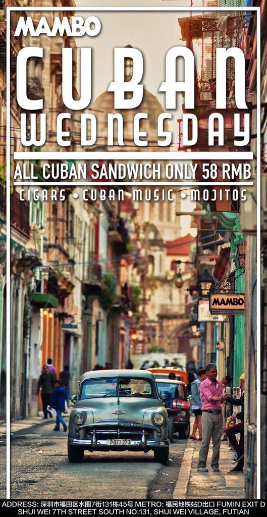MAMBO CUBAN WEDNESDAY