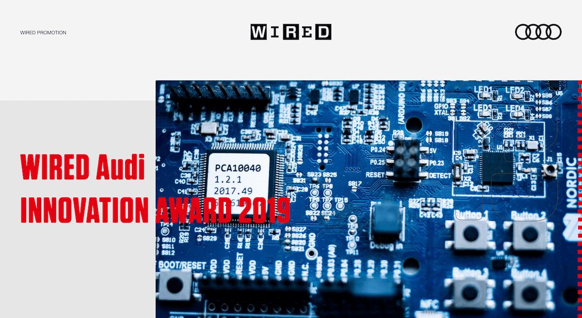 【News】JENESIS 創業者 藤岡 淳一さんが「WIRED Audi INNOVATION AWARD 2019」を受賞!