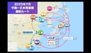 (7/7 更新)【2020年7月版】中国発着 国際便運航スケジュール・発着ルート