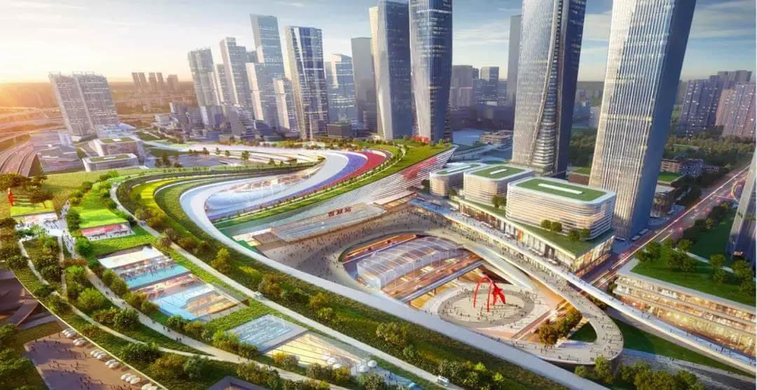 4つの地下鉄路線が集結する「西麗総合交通ハブ」正式着工:2025年完成予定