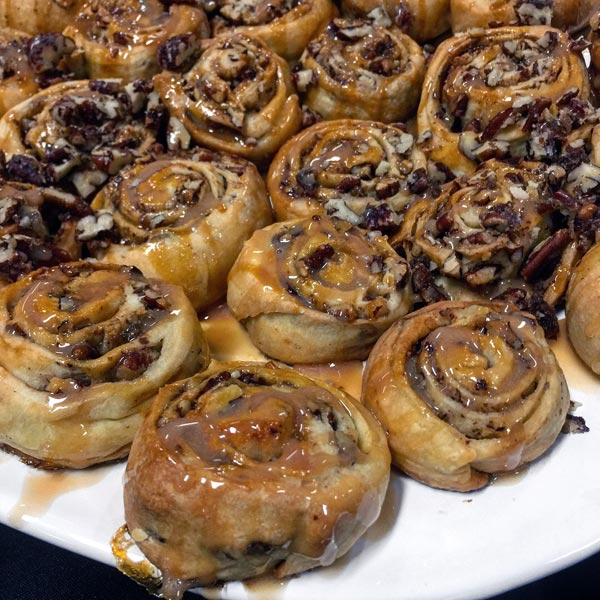 pecan sweet rolls - Secrets of the Southern Table