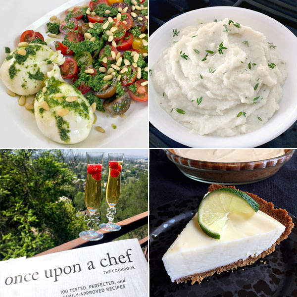 recipes tested from Once Upon A Chef Cookbook