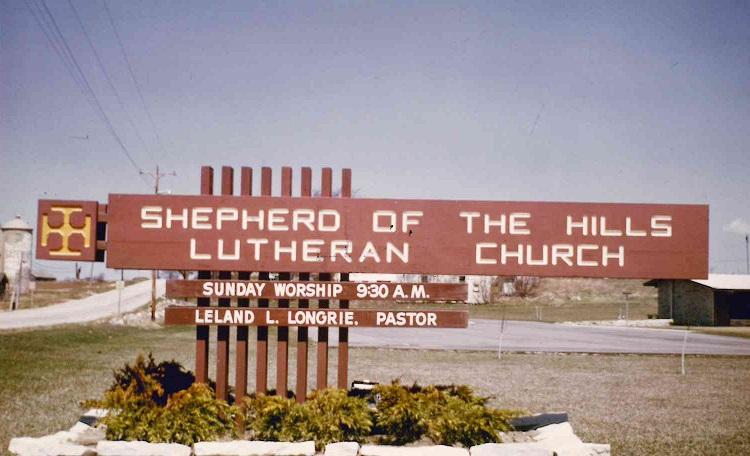 Soth 50 – 60s church sign