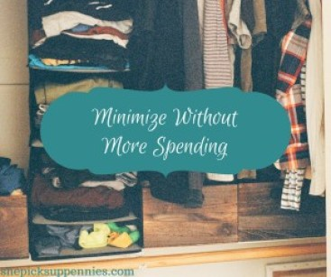 Minimize Without More Spending