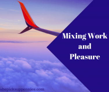 Mixing Work and Pleasure