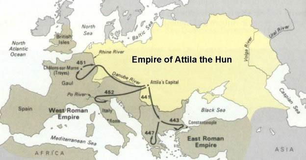 Image result for Attila the Hun