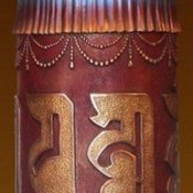 Tibetan Style Prayer Wheel
