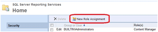 Click on New role assignment