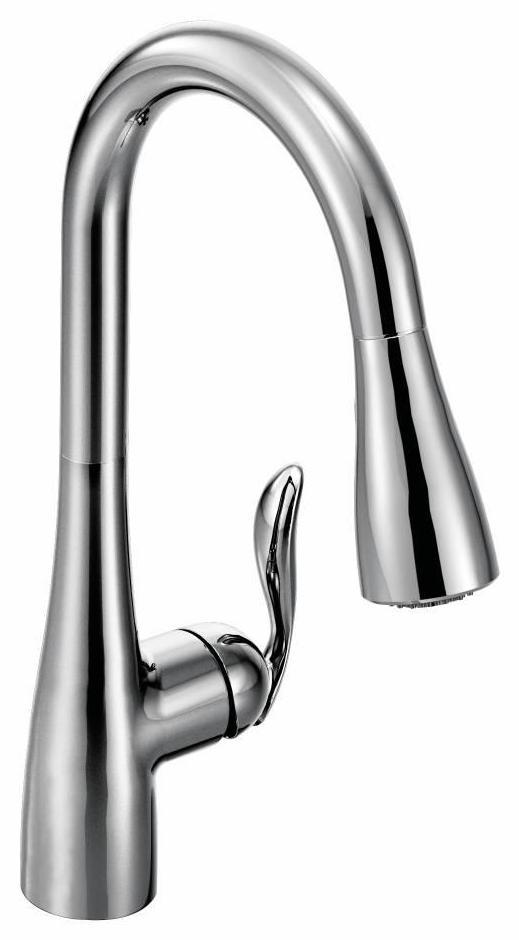 arbor kitchen faucet with pulldown spray