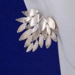 925 silver Flaming Lotus earrings