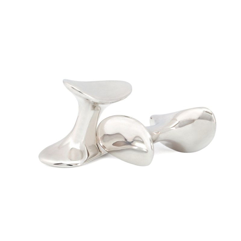 Sterling Silver Cleat cufflinks