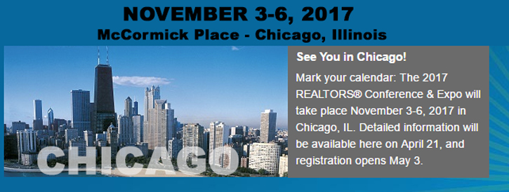 National Convention – November 3-6, 2017 • McCormick Place• Chicago, Illinois