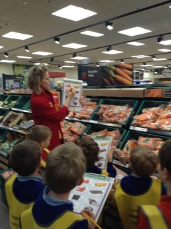 Using maths in the supermarket.