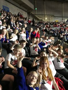 We sing at the Young Voices concert every year.