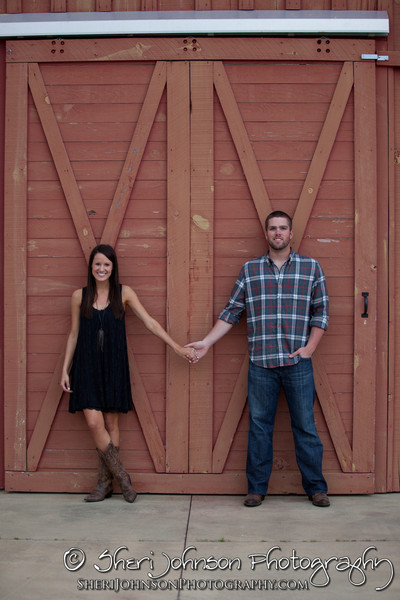 The soon to be bride & groom engagement session at Auburn University in Auburn, AL