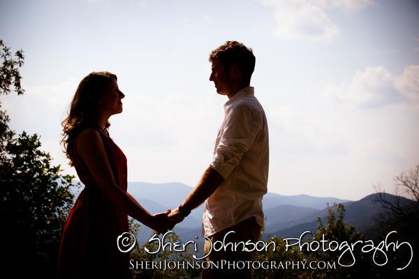 Christie & Steve's Amicalola Falls Engagement Photo Session in Dawsonville GA