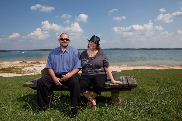 Jeff & Lisa Engagement at Lake Lanier