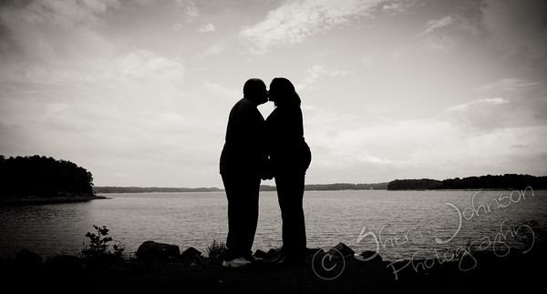 Mike & Trinelle Engagement at Lake Lanier