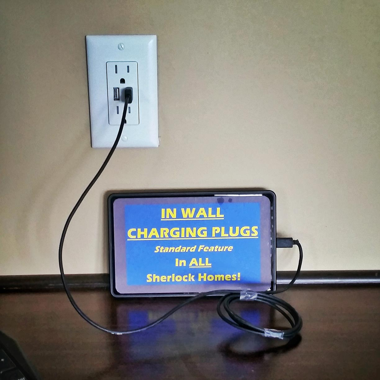 benefits of modular homes from sherlock homes of indiana inc in wall usb charging outlet standard eliminating the charging cord clutter on your counter