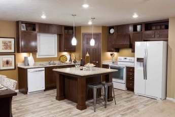 Heritage Kitchen with Granite Rock Cafe Kitchen