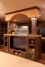 Heritage Entertainment Center with Arch