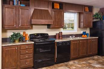 Heritage Single Wide Madison Kitchen