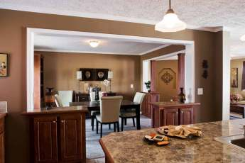 New Moon Homes Dining Room